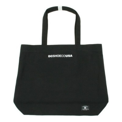 ディーシー・シュー(DC SHOE) トートバッグ CANVAS TOTE 18SU 5230J810 BLK (Men's、Lady's、Jr)