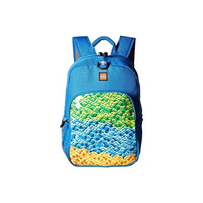 LEGO クラシック バックパック バッグ リュックサック 青 ブルー 【 BLUE LEGO BRICK WATERFALL HERITAGE CLASSIC BACKPACK 】 キッズ ベビー...