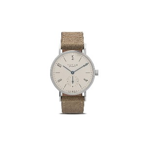 Nomos タンジェント 33mm - White, Silver-Plated