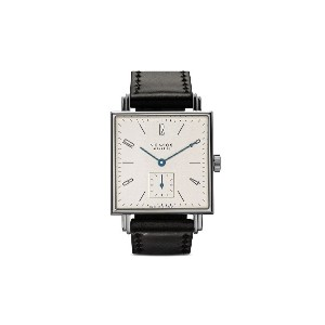 Nomos テトラ 29mm - White, Silver-Plated