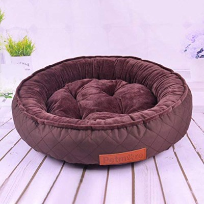 Quality Pet Dog Bed Cat Play Tent House All Seasons Soft Yurt Bed with Washable Cushion Pet Castle...