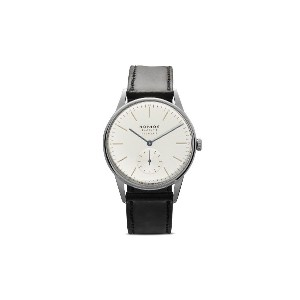 Nomos オリオン 38mm - White, Silver-Plated