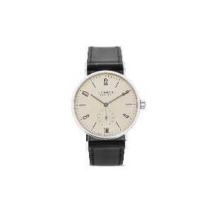 NOMOS Glashütte タンゴマット 38.3mm - White, silver-plated