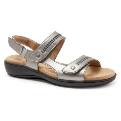 TROTTERS 【 VENICE SANDAL PEWTER LEATHER 】 送料無料