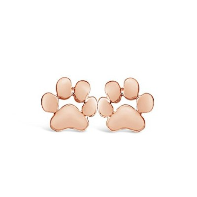 Rosa Vila Dog PawイヤリングDog Paw Print Studs for Dog Lovers