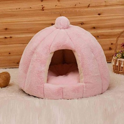Round Dog Bed For Dog Cat Winter Warm Sleeping Lounger Mat Puppy Kennel Pet Bed Machine Washable-in...