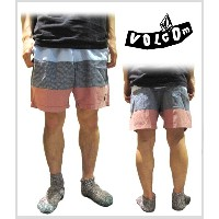 "≪1万円以上で送料無料≫【20% OFF】VOLCOM THREEZY 17"" JAM SHORT PANTS/HALF PANTS 【BLU】【L】A1021405"