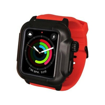 ROOX Apple Watch Series 2 / 3 (42mm) 防塵防水ケース YHDIPCW3L−RD レッド