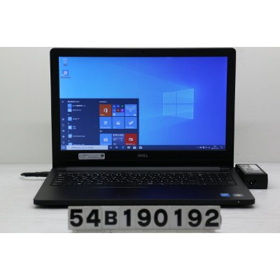 DELL Latitude 3560 Core i3 5005U 2GHz/4GB/128GB(SSD)/15.6W/FWXGA(1366x768)/Win10【中古】【20191115】