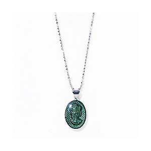 IRIS47  cameo necklace green【三越・伊勢丹/公式】 アクセサリー~~その他