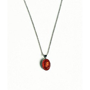 IRIS47  cameo necklace red【三越・伊勢丹/公式】 アクセサリー~~その他