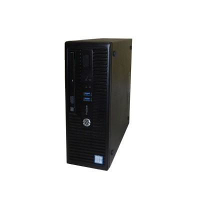 Windows10 Pro 64bit HP ProDesk 400 G3 SFF (N4P96AV) 第6世代 Core i3-6100 3.7GHz 4GB 500GB DVD-ROM...