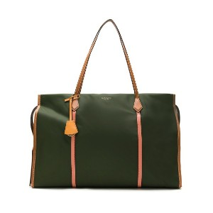 Tory Burch PERRY NYLON COLORBLOCK OVERSIZED - グリーン