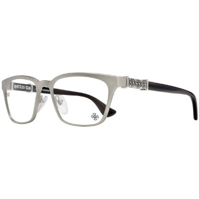 CHROME HEARTS SLHOOKER クロムハーツ  アイウェア Brushed Silver - Ebony Piano Varnish