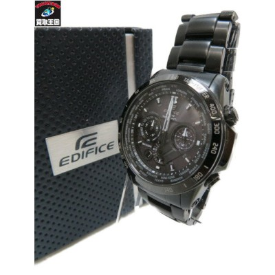 CASIO EDIFICE EQW-T1010 電波ソーラー BLK【中古】[▼]