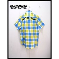 M 【WACKO MARIA ワコマリア TROPICAL CHECK B.D SHIRT(FUCK THIS LIFE) チェックシャツ】12SS-TRP-03【新品】