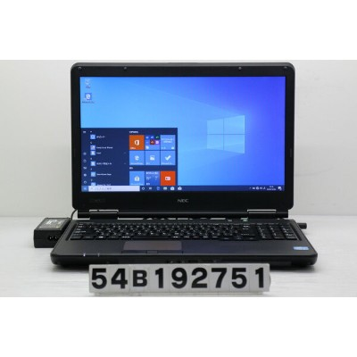 NEC PC-VK25TLNZ1NZF Core i5 3210M 2.5GHz/4GB/320GB/Multi/15.6W/FWXGA(1366x768)/Win10【中古】【20191205】