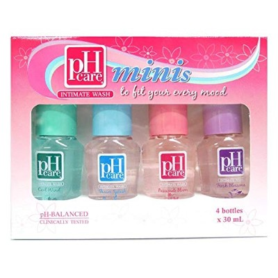 pH CARE INTIMATE WASH Minis Collection 4 bottles × 30ml ×2箱セット【PHILIPPINES】