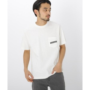 【BASE CONTROL(ベースコントロール)】 バック サークル ロゴ 半袖 Tシャツ OUTLET > BASE CONTROL > トップス > Tシャツ アイボリー