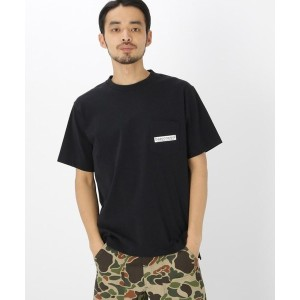 【BASE CONTROL(ベースコントロール)】 バック サークル ロゴ 半袖 Tシャツ OUTLET > BASE CONTROL > トップス > Tシャツ ブラック