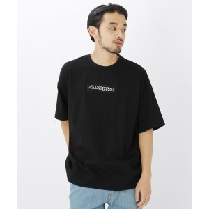 【BASE CONTROL(ベースコントロール)】 コラボ 別注 Kappa / カッパ バックジップ 半袖 Tシャツ OUTLET > BASE CONTROL > トップス > Tシャツ ブラック