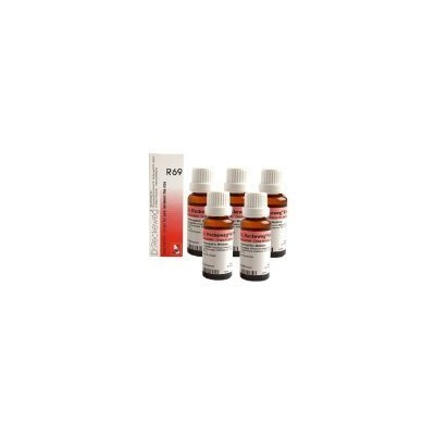 5 x Dr.Reckeweg-Germany R69- Drops For Pain Homeopathic Medicine by Dr. Reckeweg