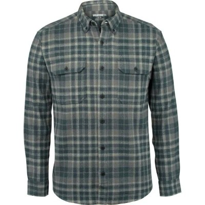 ウルヴァリン Wolverine メンズ シャツ トップス【Glacier Heavyweight Flannel (Regular and Big & Tall)】Slate Blue Plaid