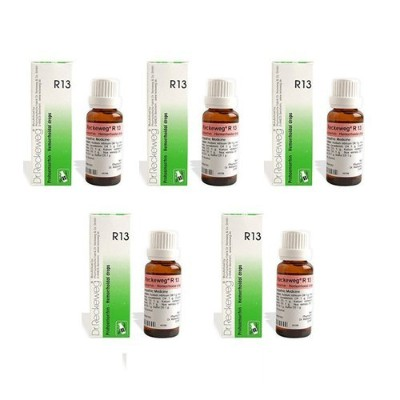 5 x Dr. Reckeweg - Homeopathic Medicine - R13 - Piles Drops. by Dr. Reckeweg