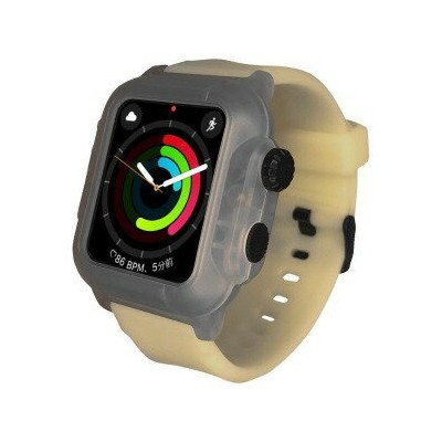 ROOX Apple Watch Series 2 / 3 (42mm) 防塵防水ケース 蓄光 YHDIPCW3L−LM