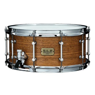 "TAMA スネアドラム LSG1465-SNG S.L.P. Snare Drum 14""x6.5"" Bold Spotted Gum  ソフトケース付き"
