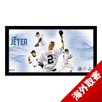 お取り寄せ MLB ヤンキース デレク・ジーター Sports Derek Jeter #2 Career Highlight Collage