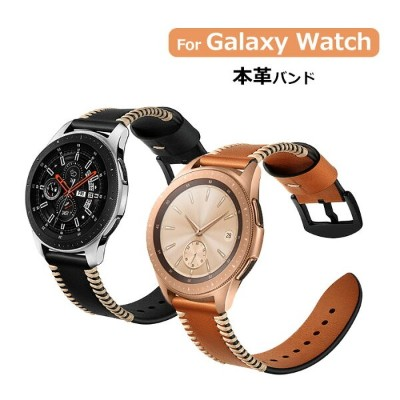 Samsung galaxy watch active2 バンド 本革 40mm 44mm Galaxy Watch 42mm 46mm ベルト Gear S3 Frontier Gear S3...