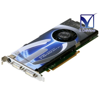 EVGA Corporation GeForce 8800 GT 512MB 2x DVI-I Port/1x HDTV/Video Out PCI Express 2.0 x16 512-P3...