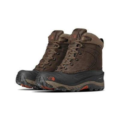 ザ ノースフェイス The North Face メンズ ブーツ シューズ・靴【Chilkat III Boots】Mudpack Brown/Bombay Orange