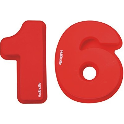 Large Silicone Number 16 Cake Tin Mould 16th Birthday Gift 1 6