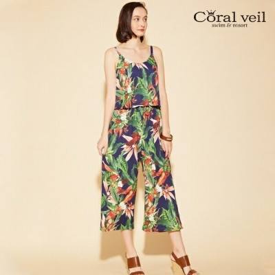 【Coral veil】Lily Garden ガウチョセット【9M.11L】/アイ(水着)(Ai)