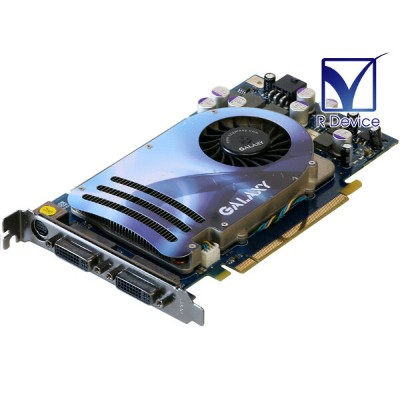 GALAXY Technology GeForce 8600 GTS 256MB DVI *2/TV-out PCI Express x16【中古】