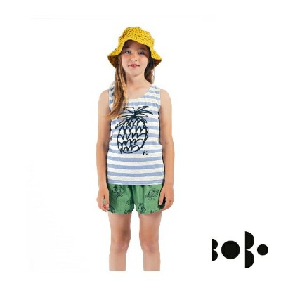 【20%OFF】BOBO CHOSES ボボショセス Paineapple striped Tank Top タンクトップ