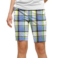 LoudMouth Ladies Blueberry Pie Shorts (#WS)【ゴルフ レディース>パンツ】