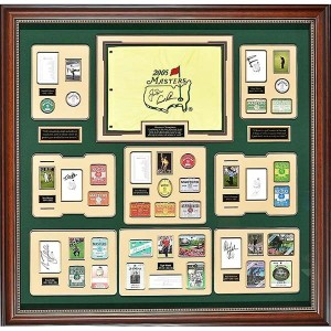 Millionaire Gallery Masters Champions w/Authentic Autographs & Badges【ゴルフ その他のアクセサリー>ギャラリー】