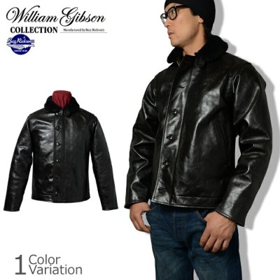 """Buzz Rickson's(バズリクソンズ) """"WILLIAM GIBSON COLLECTION"""" TYPE N-1 HORSE HIDE BR80387"""