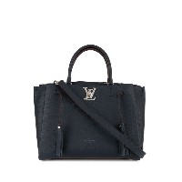 Louis Vuitton Lockmeto 2way ハンドバッグ - ブルー