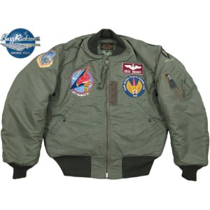 BUZZ RICKSON'S/バズリクソンズ Jacket, Flying, Intermediate Type MA-1 LION UNIFORM INC. 1957 MODEL 492nd...
