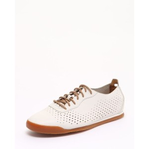 Clarks Siddal Run_White Leather○26123326 White leather スポーツグッズ・アクセサリー