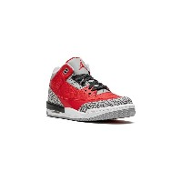 Nike Kids Air Jordan 3 Retro GS スニーカー - レッド