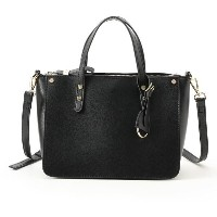 【AG by aquagirl(エージー バイ アクアガール)】 【2WAY】カラーボンディングトートバッグ OUTLET > AG by aquagirl > バッグ・財布・小物入れ >...