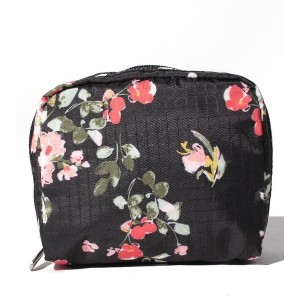 LeSportsac SQUARE COSMETIC/ガーデンローズ