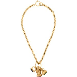 Chanel Pre-Owned 1993 CC charm necklace - ゴールド