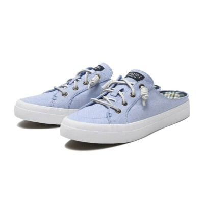 【SPERRY TOPSIDER】 スペリー トップサイダー CREST VIBE MULE CHAMBRAY クレスト バイブ ミュール シャンブレー STS84806 BLUE