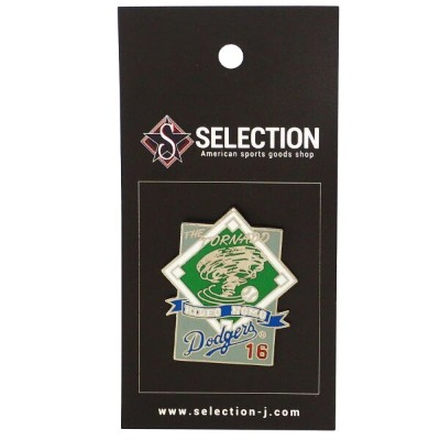 MLB 野茂 英雄 Los Angles Dodgers ピンバッチ The Tornado Pin Peter&David